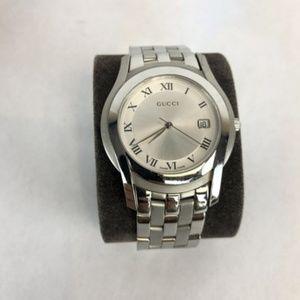 Gucci Stainless Steel Men's Ya055305 Watch